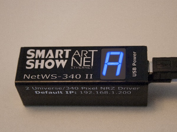 NetWS-340 - SmartShow Lighting